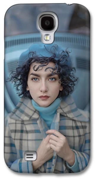 A Study In Blue Galaxy S4 Case by Anka Zhuravleva
