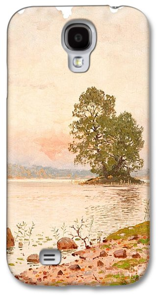 A Summer Evening Galaxy S4 Case by Celestial Images