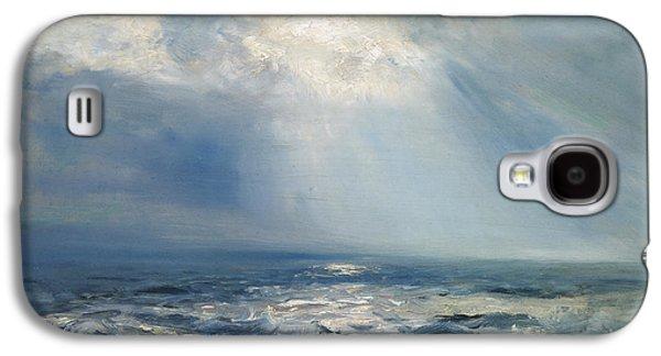 A Sunbeam Over The Sea Galaxy S4 Case