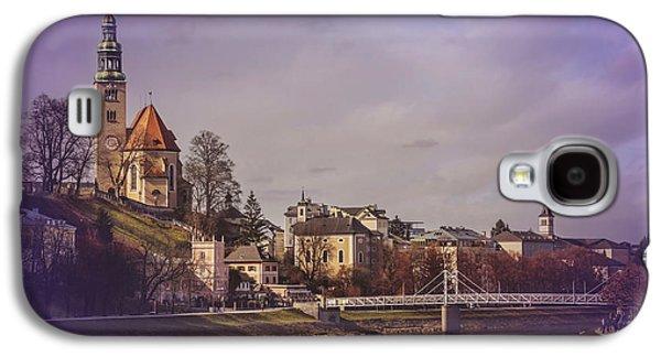 A Sunday Stroll In Salzburg Galaxy S4 Case by Carol Japp