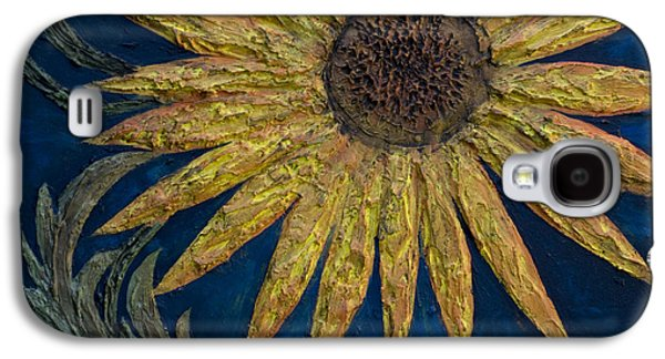A Sunflower Galaxy S4 Case by Kelly Jade King