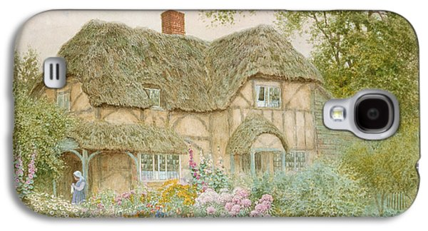 A Surrey Cottage Galaxy S4 Case by Arthur Claude Strachan