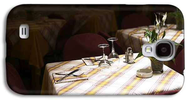 A Table Is Waiting In Sorrento Galaxy S4 Case
