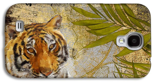 A Taste Of Africa Tiger Galaxy S4 Case by Mindy Sommers
