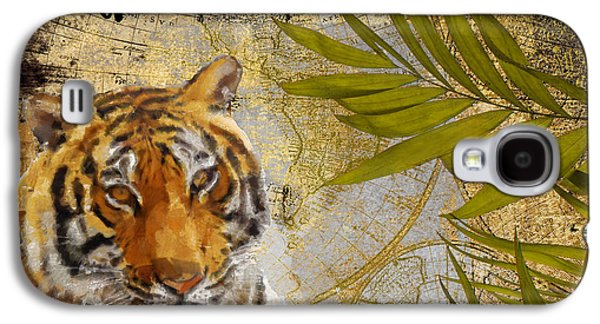 A Taste Of Africa Tiger Galaxy S4 Case