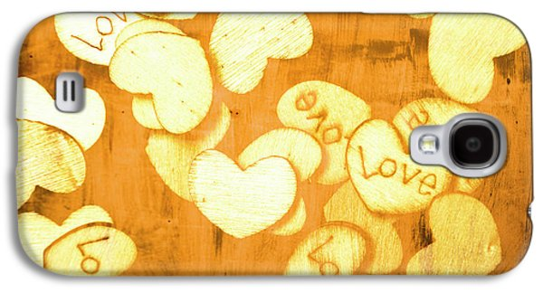 A Texture Of Vintage Love Galaxy S4 Case by Jorgo Photography - Wall Art Gallery
