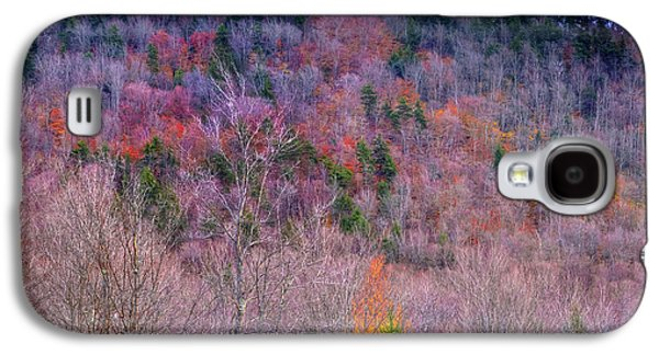 Galaxy S4 Case featuring the photograph A Touch Of Autumn by David Patterson