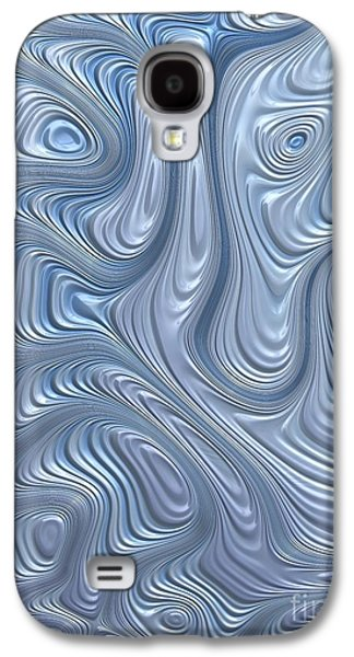 A Touch Of Blue Galaxy S4 Case