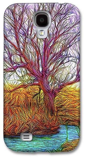 A Tree Greets Springtime Galaxy S4 Case