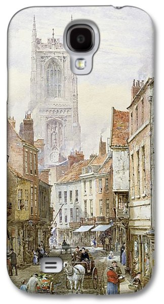 A View Of Irongate Galaxy S4 Case by Louise J Rayner