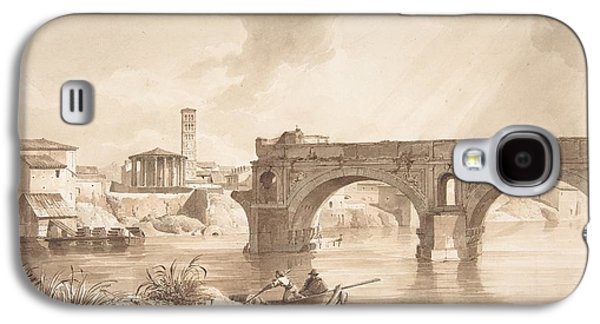 A View Of The Tiber From The North Bank Galaxy S4 Case