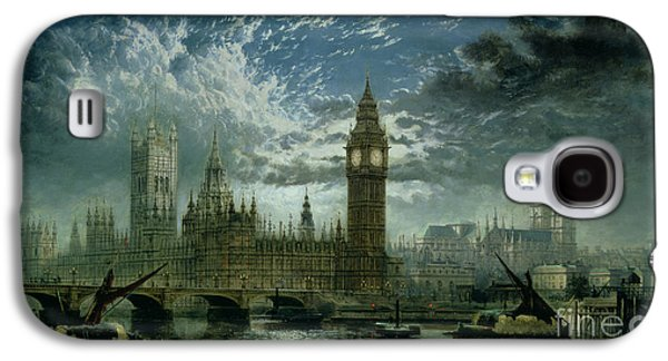A View Of Westminster Abbey And The Houses Of Parliament Galaxy S4 Case by John MacVicar Anderson