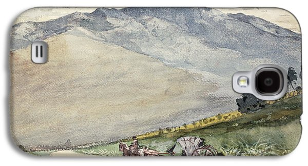 A Volante On A Mountain Road Cuba Galaxy S4 Case by Winslow Homer