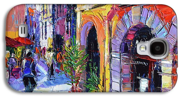 A Walk In The Lyon Old Town Galaxy S4 Case