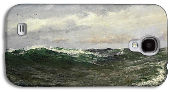 A Waste Of Waters Galaxy S4 Case by Charles Napier Hemy