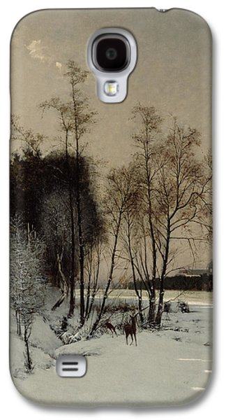 A Winter View In Posen Galaxy S4 Case by Hans Hampke