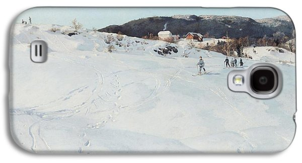 A Winter's Day In Norway Galaxy S4 Case