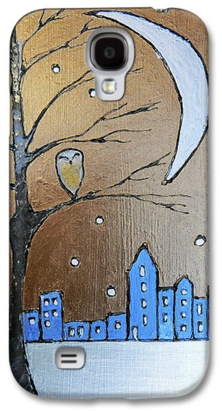 A Winter's Scene  Galaxy S4 Case by Callan Percy
