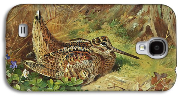 A Woodcock And Chicks Galaxy S4 Case
