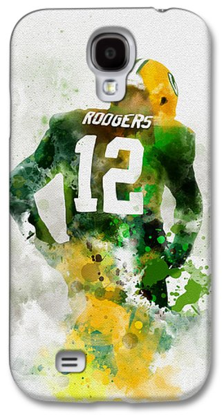 Mvp Galaxy S4 Case - Aaron Rodgers by Rebecca Jenkins