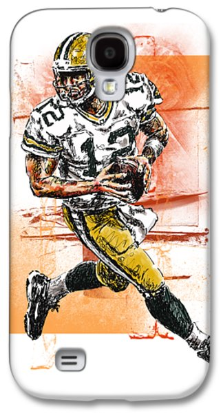 Aaron Rodgers Scrambles Galaxy S4 Case