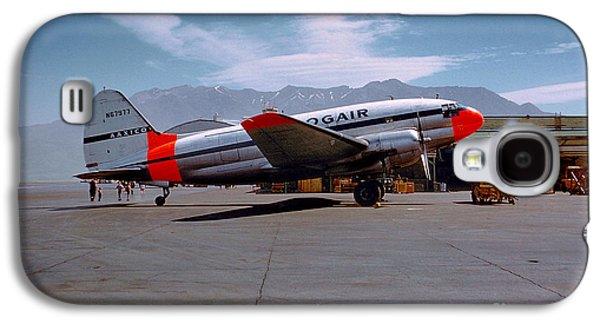 Aaxico Ch-28 Logair Curtiss C-46 Commando N67977,  Galaxy S4 Case by Wernher Krutein