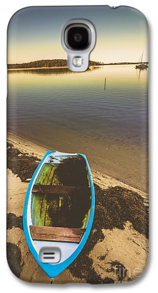 Abandoned Boat  Galaxy S4 Case