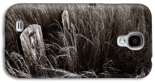Abandoned Cemetery Midwest Galaxy S4 Case by Steve Gadomski