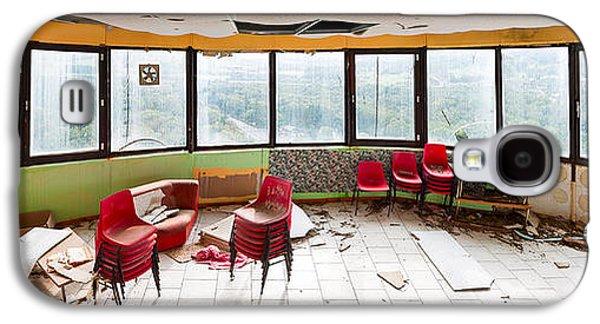 Abandoned Tower Restaurant - Urban Panorama Galaxy S4 Case by Dirk Ercken
