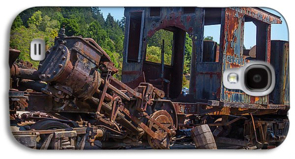 Abandoned Train Engine Galaxy S4 Case by Garry Gay