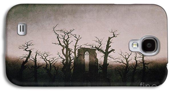 Abbey In The Oakwood Galaxy S4 Case by Caspar David Friedrich