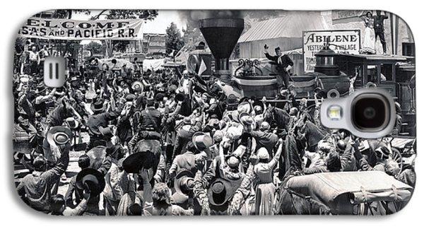 Abilene Movie Scene Galaxy S4 Case by Underwood Archives