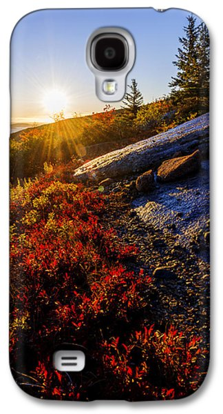 Above Bar Harbor Galaxy S4 Case by Chad Dutson