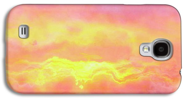 Above The Clouds - Abstract Art Galaxy S4 Case