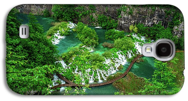 Above The Paths And Waterfalls At Plitvice Lakes National Park, Croatia Galaxy S4 Case