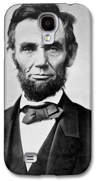 Abraham Lincoln -  Portrait Galaxy S4 Case by International  Images