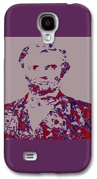 Abraham Lincoln 4c Galaxy S4 Case by Brian Reaves