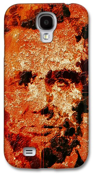 Abraham Lincoln 4d Galaxy S4 Case