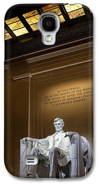 Abraham Lincoln Galaxy S4 Case by Andrew Soundarajan