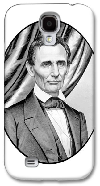 Abraham Lincoln Circa 1860 Galaxy S4 Case by War Is Hell Store