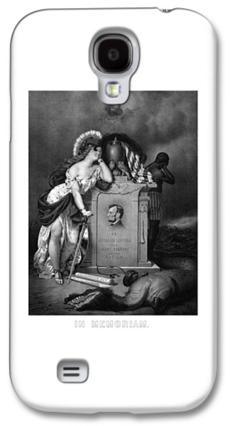 Abraham Lincoln In Memoriam  Galaxy S4 Case