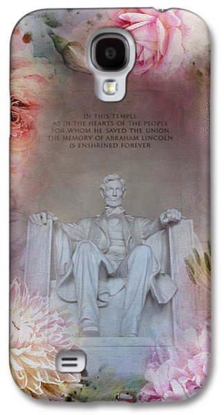 Abraham Lincoln Memorial At Spring Galaxy S4 Case
