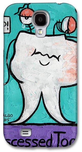 Abscessed Tooth Galaxy S4 Case by Anthony Falbo