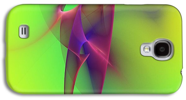 Abstract 091610 Galaxy S4 Case by David Lane