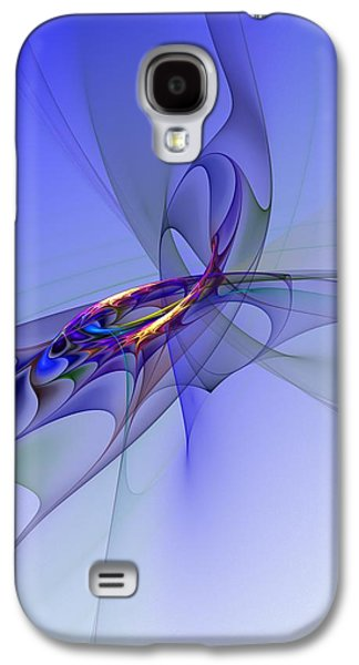 Abstract 110210 Galaxy S4 Case by David Lane