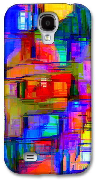 Abstract 1293 Galaxy S4 Case