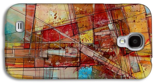 Abstract #240 Galaxy S4 Case