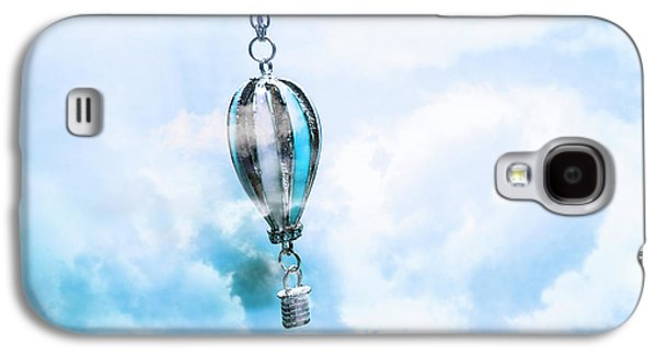 Abstract Air Baloon Hanging On Chain Galaxy S4 Case by Jorgo Photography - Wall Art Gallery