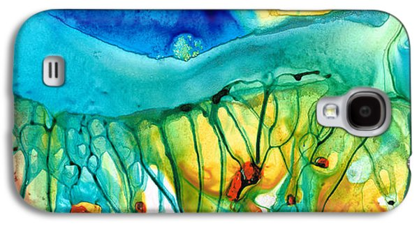 Abstract Art - Journey To Color - Sharon Cummings Galaxy S4 Case