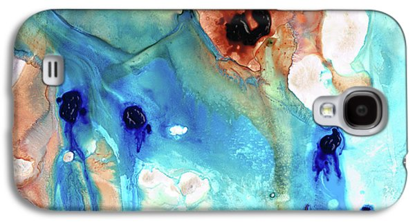 Abstract Art - The Journey Home - Sharon Cummings Galaxy S4 Case by Sharon Cummings